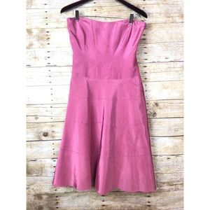🔸NWT Nicole Miller New York Pink Strapless Dress